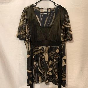Fashion Bug Plus Size 22 24 Blouse 1015